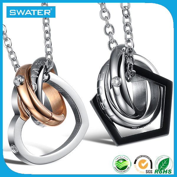 China Supplier Fashion Design 3 Best Friends Necklaces