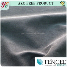 wholesale 50 tencel 46 cotton 4 spandex elastic tencel cotton fabric