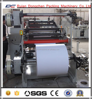 Cash receipt Thermal Paper roll to roll Slitting Machine