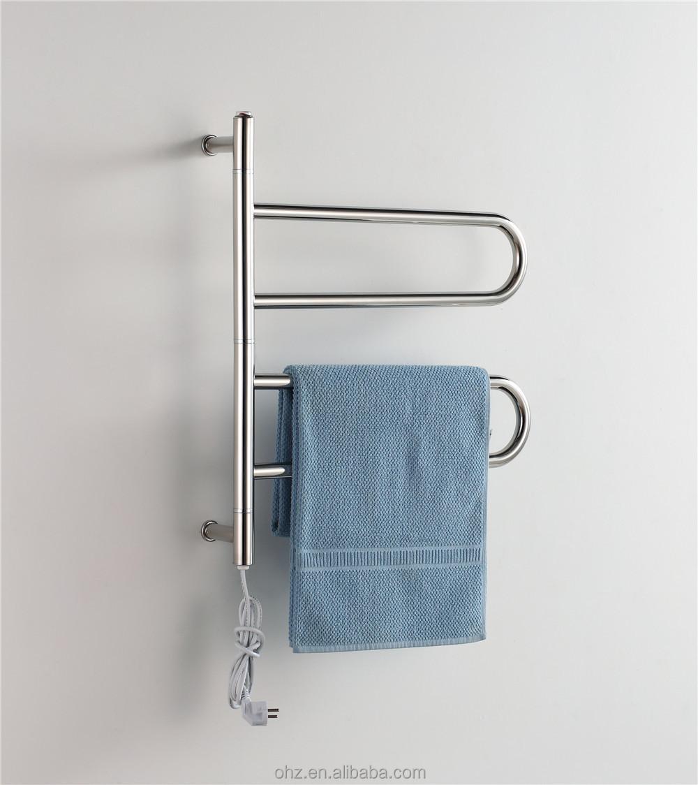 in acciaio inox elegante mobile scaldasalviette asciugamano ...