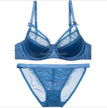 L0425A Ladies underwear images beautiful design girl lace sexy fancy bra panty set