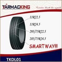 Tarmac King Brand Steer Radial truck tyre 295/75R22.5 tire looking for distrubutors or agents