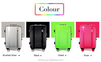 2015 Colorful PC Hard Shell Trolley Spinner Luggage