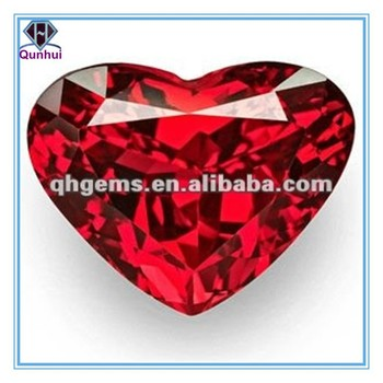 Attacting Pendants with Heart Shaped Ruby Gemstone