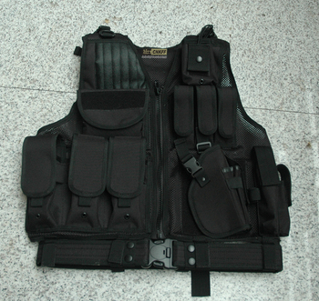 Protective Mesh Modular Military Vest with Molle System