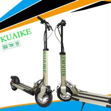 Comfort and Portable 10 inch green power lithium battery electric standing scooter