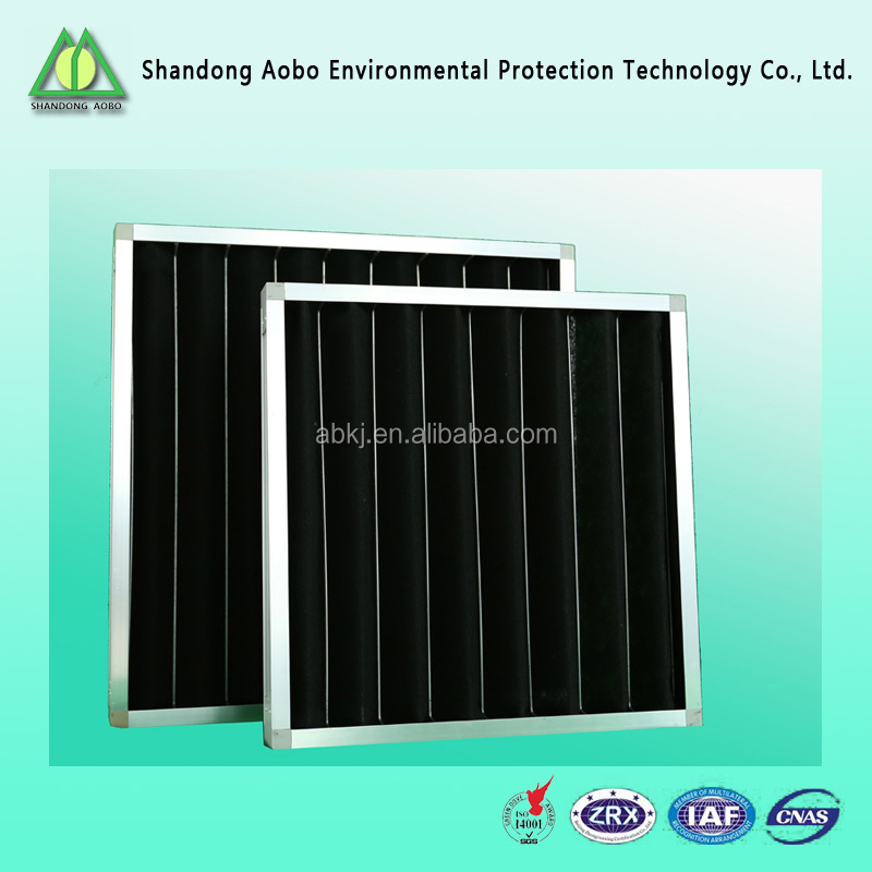 high Efficiency Customized hvac activated carbon air filters