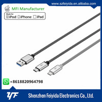 SGS manufacturer usb hub 3.1 type c to type c cable with CE RoHS