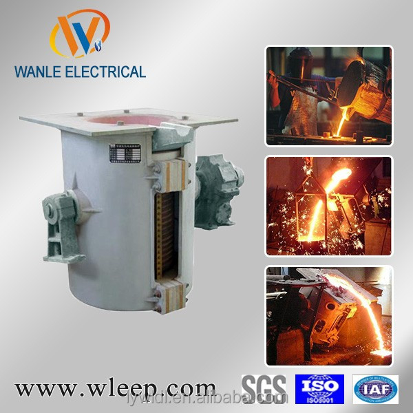 copper inductotherm melting machine