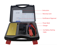 Auto battery Multifunctional 12V 16V 19V 12000mAH emergency power bank Mini car jump starter