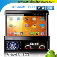 "Erisin ES8990A 7"" HD Capacitive Car DVD Player GPS WiFi 3G DVR"