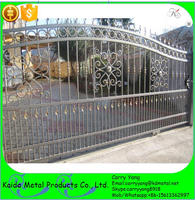 Fencing, Trellis & Gates Type Wrought Iron Sliding Main Gate Design Home