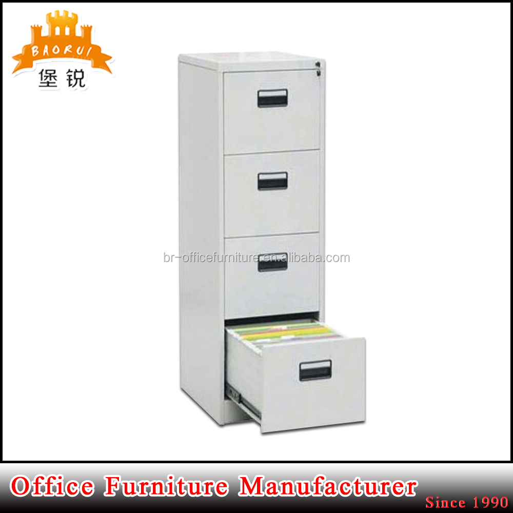 hot sale KD structure blum office metal 4 drawer office used filing boxes file cabinet