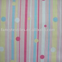 100% cotton printed fabric for bed sheeting
