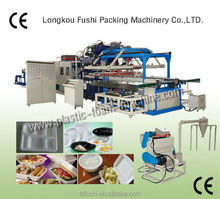 disposable container production line factory automatic ps foam thermoforming machine manufacture