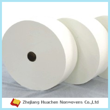 China Wholesale manufacturer raw materials hydrophilic ADL Nonwoven for Baby Diaper and sanitary napkin