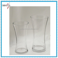 large unique shape tall clear glass cylinder vases