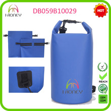 Outdoor dry bag waterproof with your custom logo for swimming drifting