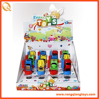 Children favorite cotton candy container of toy car SB7695TH11006