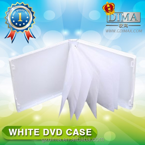 online store suppliers multi-faceted white dvd case