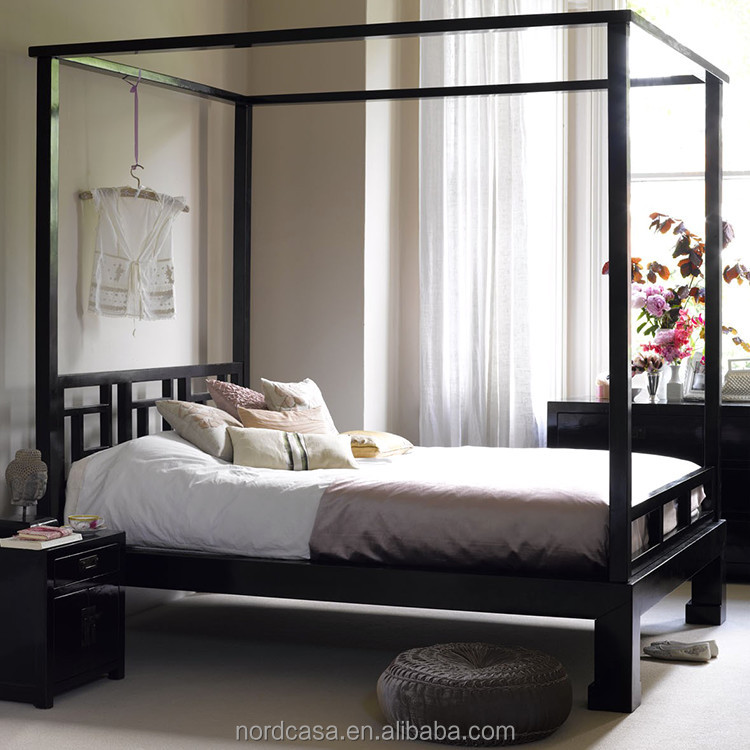 list of antique canopy bed