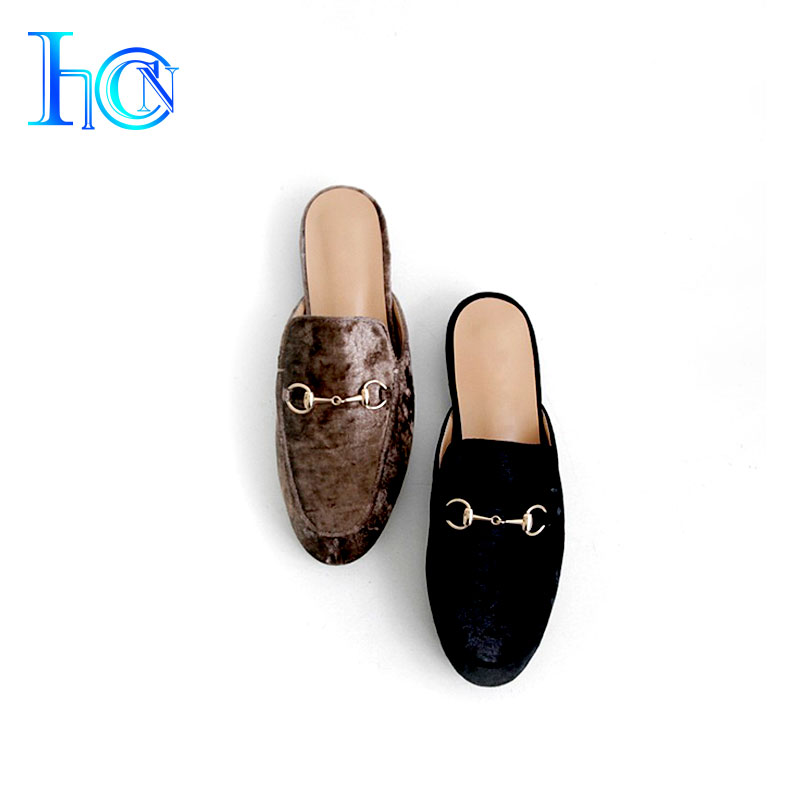 Raw materials for chinese woman naked leather slipper