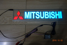 More higher brightness and quality 400mmX100mm MITSUBISHI EL Car sticker/DC12V MITSUBISHI EL car sticker