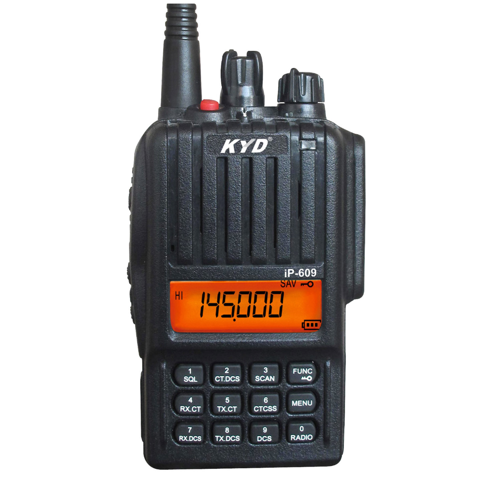 Kydera IP-609UV 5watt pocket polic radio long range <strong>communication</strong>