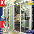 PE45 series Aluminium double casement/swing/hinges french door