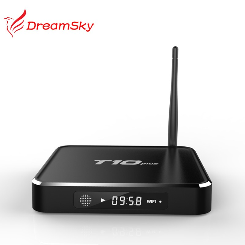 Amlogic S905 WIFI android tv box T10 plus Android 5.1 Quad Core metal case 4K Set Top Box