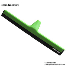 HQ0023 recycled PP material double EVA layers floor squeegee Italian screw water sweeper