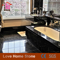 Black And White Marble Floor Tile