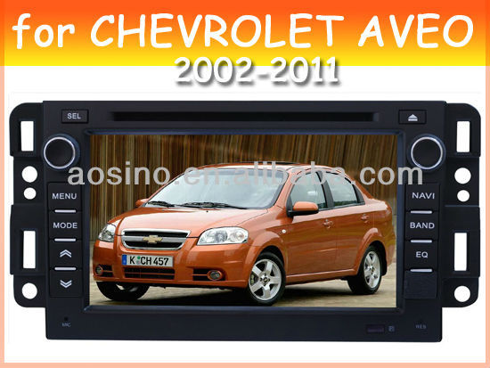 car audio car dvd gps player for CHEVROLET AVEO 2002-2011 with radio gps navigation