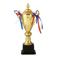 Manufacturer sale OEM quality professional custom design gold awards metal trophy