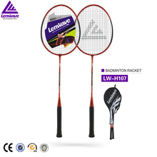 Newest outdoor custom printed badminton racket