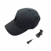 High Breathable Mesh Baseball Hat for GoPro with Quick Release Buckle Mount for Go Pro Hero 4/3/3+/2/1/4S