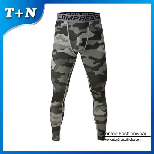 sexy nylon spandex bodybuilding camo women men fitness leggings