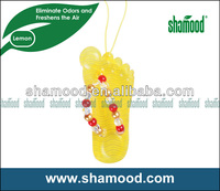 Flip-flop Scented Plastic Hanging Novelty Car Air freshener