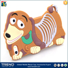 dog cartoon silicon rubber case for iphone 5