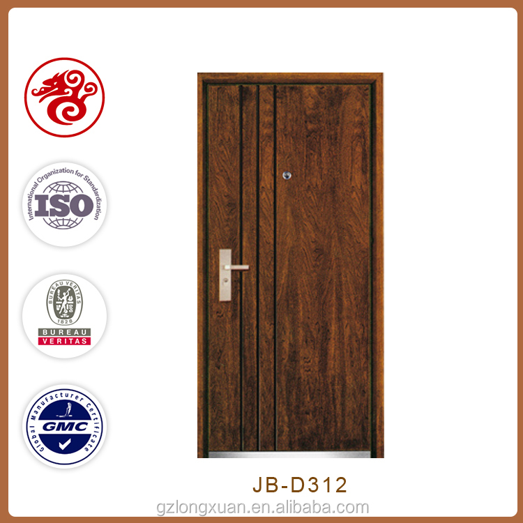 High quality entry doors type italian security door wood steel door