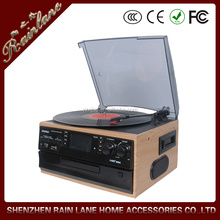 modern wooden gramophone portable cd player popular multifunctional turntable