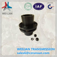 JM series flexible ball screw pump rubber coupling made in China
