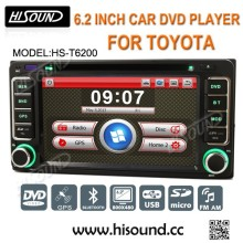 2din car universal dvd toyota dashboard with gps