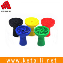 silicone shisha bowl rubber hookah head and hose manufacturer