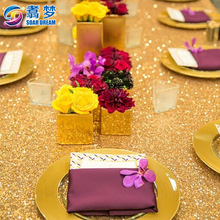 Custom free Sample sequin table cloth table cover table cloth