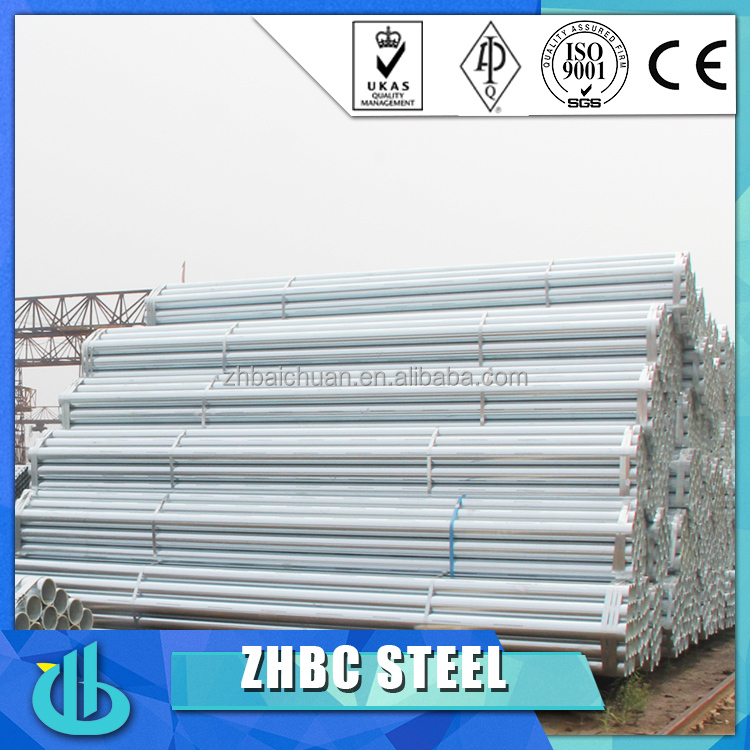 Low Carbon astm a53 galvanized steel pipe/Schedule 40 Galvanized Steel Pipes
