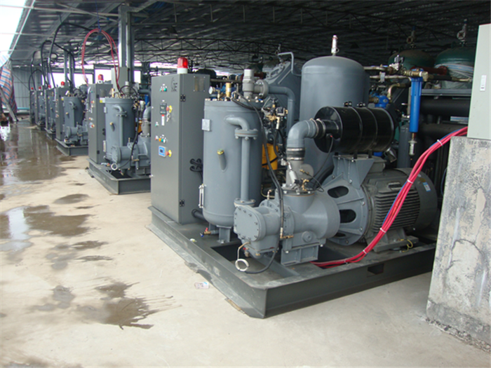 China High pressure air compressor for PET bottle Blowing