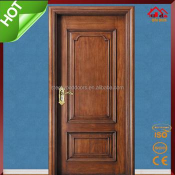 Main Interior Wood Mahogany Entry Door Models