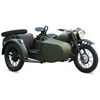 Motorbike Sidecar ArmyGreen Electric motorcycle CJ750 for sale