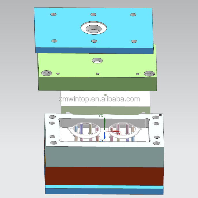 precise shower mould